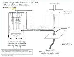 signature thermostat by floor heating nuheat solo wiring diagram r500 nuheat wiring diagram Nuheat Wiring Diagram #26