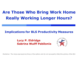 bring work home. Are Those Who Bring Work Home Really Working Longer Hours. 2