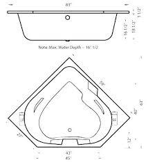 bathtub dimension standard dimensions bathtubs size gallons aquamarine x corner air bath tub how wide is standard tub dimensions non size bathtubs