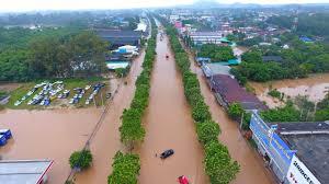 พายุ เคลื่อนตัวเข้าไทย ลูกที่ 4 ระดับโซนร้อน หนักสุดพลังมาก 18-20 ต.ค.