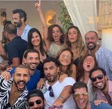 5 صور جديدة تجمع نيللي كريم وهشام عاشور بعد الإعلان عن عقد قرانهما فى أغسطس