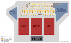 The Rose Pasadena Tickets Schedule Seating Chart