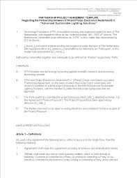 Partnership Agreement Between Companies Agreement Format Between Two Companies Magdalene Project Org