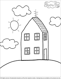 13 peppa pig pictures to print and color. Peppa Pig Coloring Pages Coloring Home