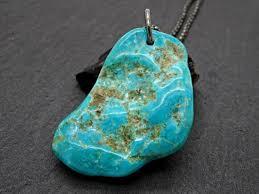 big turquoise pendant silver sleeping