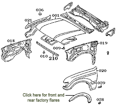 page 114 land cruiser 80 series exterior molding accessories radiator support