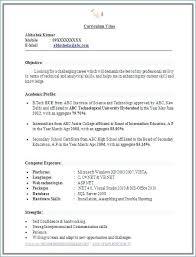Resume Format Free Download Free Resume Builder Free Download