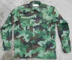 SERBIA - SERBIAN Army Latest Issue M10 Camouflage Summer Jacket Size ...