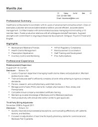 professional reimbursement coordinator templates to showcase your resume templates reimbursement coordinator