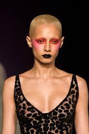 hair and makeup autumn winter 2018 london fashion week popsugar beauty australia