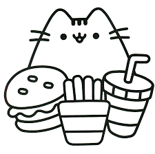 Small Picture Pusheen Coloring Pages GetColoringPagescom