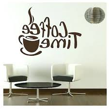 cafe wall decor time cafe wall decals murals dining room kitchen coffee wall