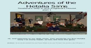 Adventures Of The Hetalia Sims Part 1 - [PPT Powerpoint]