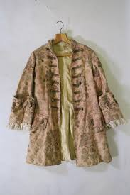a late c19th early c20th theatrical dandy coat costume retailed by b j simmons