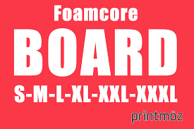 Foam Core Board What Are Common Sizes Thickness