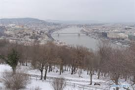 Snow-covered <b>winter landscape in</b> Budapest, Hungary - Xinhua ...