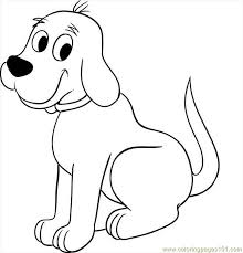Beautiful Ideas Clifford The Big Red Dog Coloring Pages Pictures