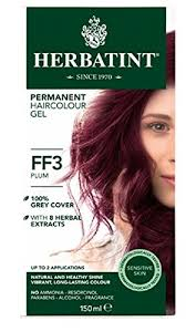 Herbatint Chart Herbatint Flash Fashion Hair Color Plum 4 Fluid Ounce