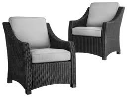 Design Ideas For Black Wicker Outdoor Furnitur 20689Black Outdoor Wicker Furniture