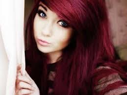tendencias de cabello rojo cereza para