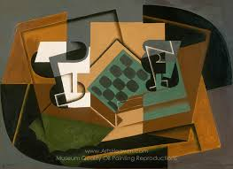 Gris, Juan Chessboard, Glass, and Dish Painting Reproductions, Save 50-75%,  Free Shipping, ArtsHeaven.com