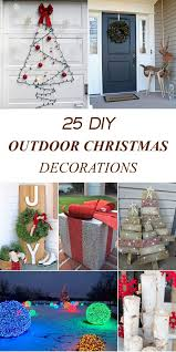 Image Lights Diytotry 25 Amazing Diy Outdoor Christmas Decorations On Budget Pinterest Diytotry 25 Amazing Diy Outdoor Christmas Decorations On Budget