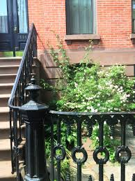 greenpoint brooklyn brownstone front garden