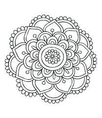 Mandala Coloring Pages Free Download 4 Mandalas Owl Pdf Art