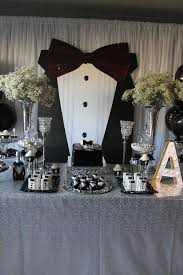 black and white tuxedo birthday party see more party planning ideas at catchmyparty