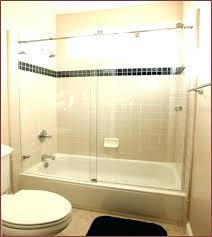 sliding door bathtub sliding bathtub door track assembly kit franklin brass framed sliding bathtub door kit