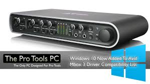 Pro Tools 10 Compatibility Chart Avid Introduce Windows 10 Compatibility To 3rd Generation Mboxes