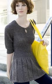 Knit Dress Pattern Interesting Lovely Free Pattern By Novita Very Cute Knittin Beginnin