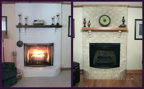 brick fireplace remodel removing brick fireplace image of select fireplace remodel before and after removing brick