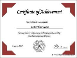 Sample Certificate Templates Create Printable Certificates In Powerpoint In A Jiffy