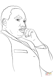 Small Picture Martin Luther King Jr coloring page Free Printable Coloring Pages
