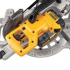 dewalt miter saw with laser. dewalt previews cordless sliding miter saw dewalt with laser w