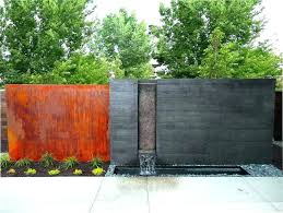 O Outdoor Wall Waterfall Best Fountains Ideas On Water  Lovable Features