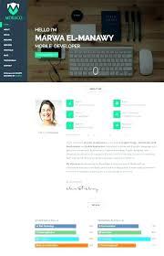 Best Resume Websites Cv Website Template Free Resume Templates Website Designer