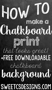 Chalkboard Background Free Chalkboard Background And How To Make A Realistic Chalk Print