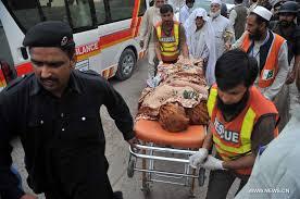over killed injured as magnitude earthquake hits   peshawar earthquake hospital