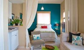 tips decorating small studio apartment