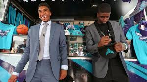 The Charlotte Hornets draft picks ...