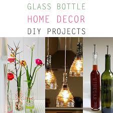 Decorative Colored Glass Bottles Glass Bottle Home Decor DIY Projects The Cottage Market 53
