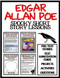 best the tell tale heart ideas edgar allan poe spooky short story lessons for the black cat the raven