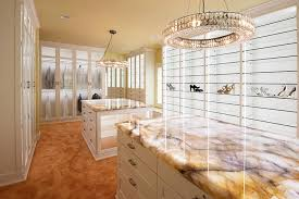 walk in closet organization system with custom led lighting system