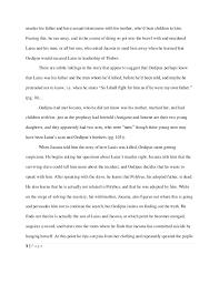 justice adams s oedipus rex essay 4