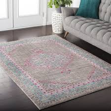 emerging pink rugs for bedroom wonderful and gray rug furry navy