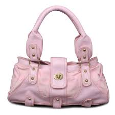 Coach Stud Lock Signature Small Pink Totes ENS