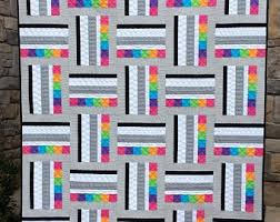 Contemporary Quilt Patterns New Modern Quilt Patterns Etsy