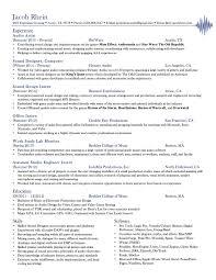 Wonderful Double Major Resume Format Gallery Entry Level Resume